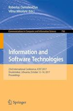 Information and Software Technologies : 23rd International Conference, ICIST 2017, Druskininkai, Lithuania, October 12-14, 2017, Proceedings