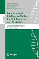 Computational Intelligence Methods for Bioinformatics and Biostatistics : 13th International Meeting, CIBB 2016, Stirling, UK, September 1-3, 2016, Re