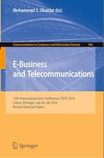 E-Business and Telecommunications (Communications in Computer and Information Science, nr. 764)