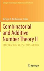Combinatorial and Additive Number Theory II : CANT, New York, NY, USA, 2015 and 2016