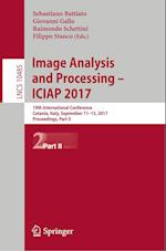 Image Analysis and Processing - ICIAP 2017 : 19th International Conference, Catania, Italy, September 11-15, 2017, Proceedings, Part II