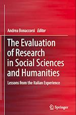 The Evaluation of Research in Social Sciences and Humanities