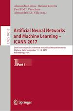 Artificial Neural Networks and Machine Learning - ICANN 2017 (Lecture Notes in Computer Science, nr. 10613)