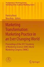 Marketing Transformation (Developments in Marketing Science Proceedings of the Academ)