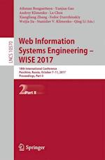 Web Information Systems Engineering - WISE 2017 : 18th International Conference, Puschino, Russia, October 7-11, 2017, Proceedings, Part II