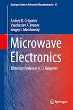 Microwave Electronics (Springer Series in Advanced Microelectronics, nr. 61)