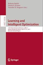 Learning and Intelligent Optimization : 11th International Conference, LION 11, Nizhny Novgorod, Russia, June 19-21, 2017, Revised Selected Papers