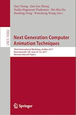 Next Generation Computer Animation Techniques (Lecture Notes in Computer Science, nr. 1058)