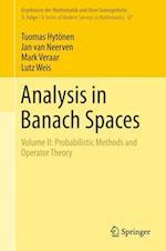 Analysis in Banach Spaces (Ergebnisse der Mathematik und ihrer Grenzgebiete. 3. Folge / A Series of Modern Surveys in Mathematics, nr. 67)