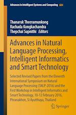 Advances in Natural Language Processing, Intelligent Informatics and Smart Technology (Advances in Intelligent Systems and Computing, nr. 684)