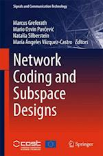 Network Coding and Subspace Designs