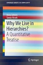 Why We Live in Hierarchies? (Springerbriefs in Complexity)