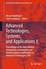 Advanced Technologies, Systems, and Applications II (Lecture Notes in Networks and Systems, nr. 28)