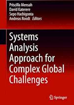 Systems Analysis Approach for Complex Global Challenges
