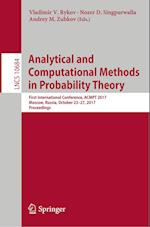Analytical and Computational Methods in Probability Theory : First International Conference, ACMPT 2017, Moscow, Russia, October 23-27, 2017, Proceedi