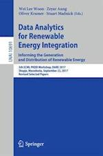 Data Analytics for Renewable Energy Integration: Informing the Generation and Distribution of Renewable Energy : 5th ECML PKDD Workshop, DARE 2017, Sk