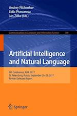 Artificial Intelligence and Natural Language : 6th Conference, AINL 2017, St. Petersburg, Russia, September 20-23, 2017, Revised Selected Papers