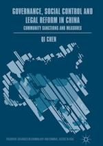 Governance, Social Control and Legal Reform in China (Palgrave Advances in Criminology and Criminal Justice in Asia)