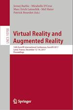 Virtual Reality and Augmented Reality : 14th EuroVR International Conference, EuroVR 2017, Laval, France, December 12-14, 2017, Proceedings
