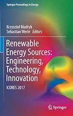 Renewable Energy Sources: Engineering, Technology, Innovation (Springer Proceedings in Energy)