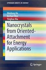 Nanocrystals from Oriented-Attachment for Energy Applications