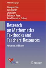 Research on Mathematics Textbooks and Teachers' Resources : Advances and Issues