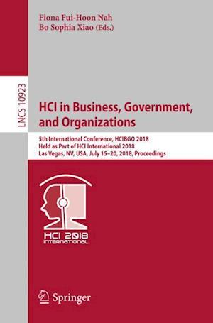 HCI in Business, Government, and Organizations