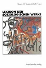 Lexikon Der Soziologischen Werke af Georg W. Oesterdiekhoff