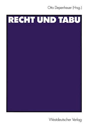 Recht und Tabu