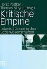 Kritische Empirie af Horst Pottker