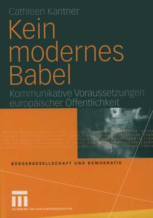 Kein modernes Babel af Cathleen Kantner