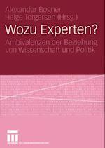 Wozu Experten?