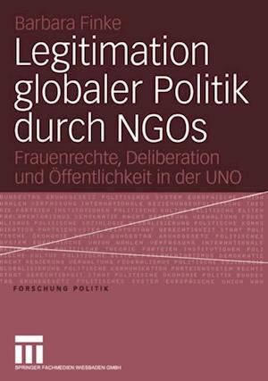 Legitimation globaler Politik durch NGOs
