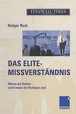Das Elite- Missverstandnis af Holger Rust