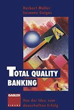 Total Quality Banking af Herbert Muller