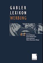 Gabler Lexikon Werbung af Gerold Behrens