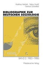 Bibliographie Zur Deutschen Soziologie af Stefan Hradil, Matthias Herfurth, Gerhard Schonfeld