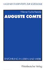 Auguste Comte af Werner Fuchs-Heinritz