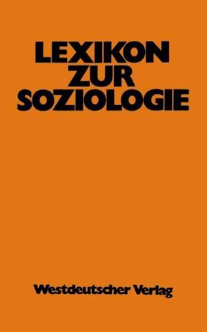 Lexikon zur Soziologie af Werner Fuchs-Heinritz