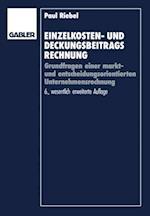 Einzelkosten- und Deckungsbeitragsrechnung