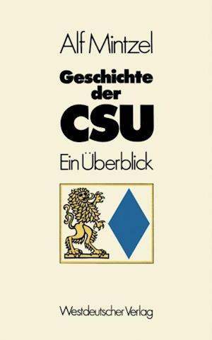 Geschichte der CSU