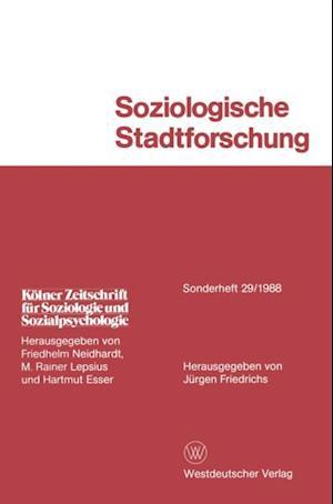 Soziologische Stadtforschung af Jurgen Friedrichs