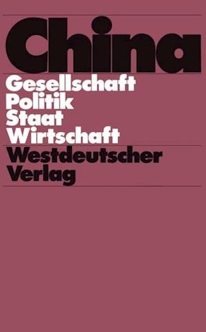 China af Wolfgang Franke, BRUNHILD STAIGER