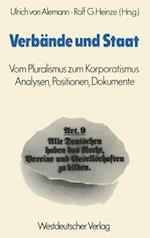 Verbande und Staat af Ulrich ˜vonœ Alemann
