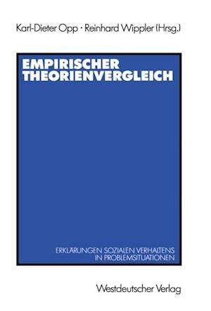 Empirischer Theorienvergleich af Karl-Dieter Opp