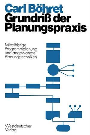Grundri der Planungspraxis af Carl Bohret