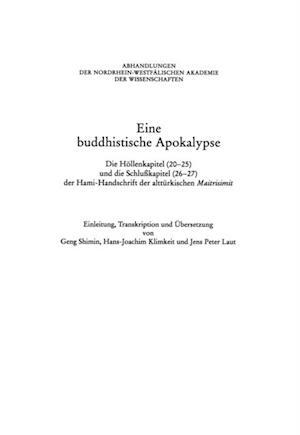 Eine Buddhistische Apokalypse af Shimin Geng