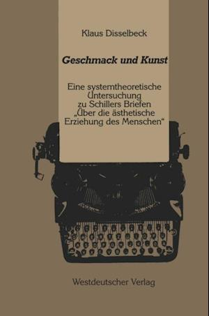 Geschmack und Kunst af Klaus Disselbeck