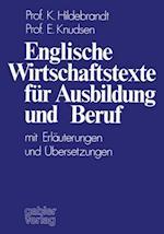 Englische Wirtschaftstexte fur Ausbildung und Beruf af Karin Hildebrandt