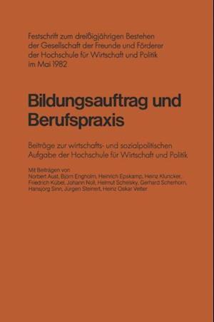 Bildungsauftrag und Berufspraxis af Norbert Aust